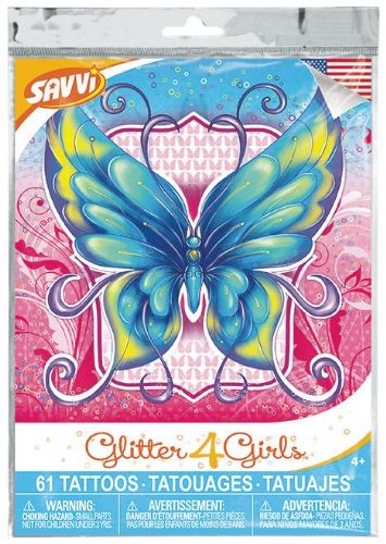 Glitter4Girls Temporary Tattoos